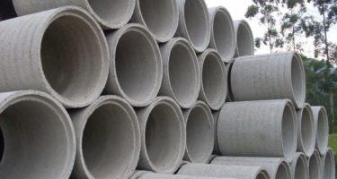 tubos grandes de concreto